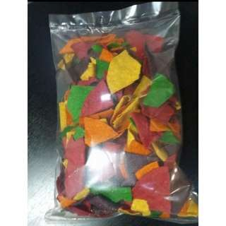 Colored / Flavored Nacho Chips