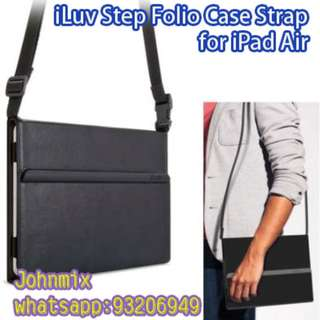 iLuv Step Folio Case Strap for iPad Air (AP5STEFBK V1.1)