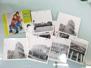 50-70年代  外國景物照片,合共16張,懷舊照片,舊相片