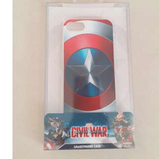 MARVEL Civil War Captain America 美國隊長 iPhone 7 手機套 手機殼