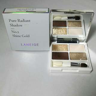 Laneige Pure Radiant Shadow No 2 Shine Gold