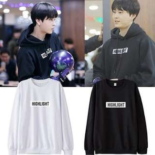 Preorder - HIGHLIGHT HOODIE SIZE ; S~3XL (exc.pos)