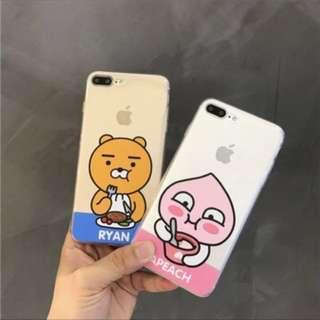 [PO*FREE NM] Kakao Friends Ryan / Apeach phone case