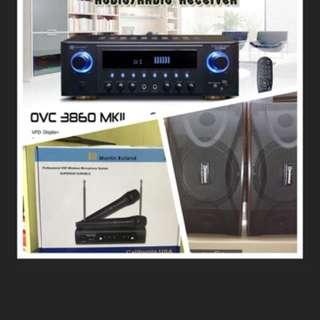 Martin Roland Karaoke System Bundle Promotion
