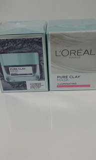 L'oreal pure clay mask 2