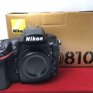 Nikon D810(Shuttercount:31K)