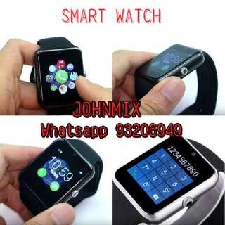 Smart Watch 智能手錶 通話功能 WHATSAPP 顯示信息 來電接聽/來電顯示/信息提醒 藍芽手錶.