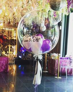 Birthday or any occasion Bubble Balloon