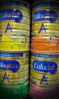 Baby Infant formula and Milk Powder Mead Johnson & Abbott Enfa Enfamil Enfagrow Similac Gain IQ kid