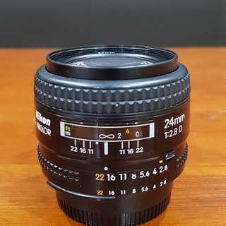 Nikon 24mm 2.8D