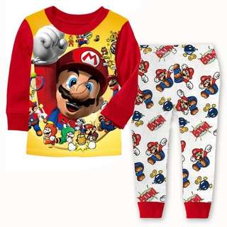 Super Mario Clothes Set