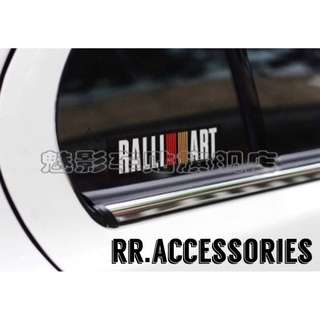 💡Quality Mitsubishi Ralliart Window Sticker