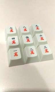 Mahjong Keycaps (numpad)