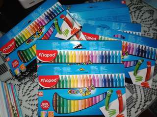 Maped Colorpep's Wax (Crayon) isi 24