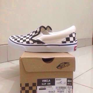 VANS SLIP ON CHECKERBOARD‼️