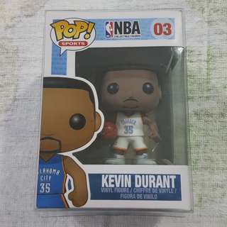 Legit Brand New With Box Funko Pop Sports NBA Kevin Durant Oklahoma City Thunder Toy Figure