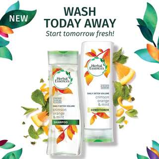 Herbal Essence Daily Detox Shampoo + Conditioner