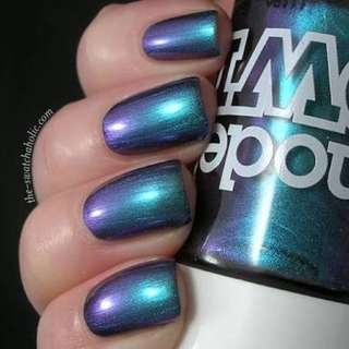 NEW! Model's Own Nail Polish in Aqua Violet