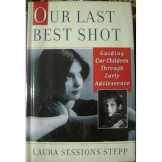 OUR LAST BEST SHOT Laura Sessions Stepp