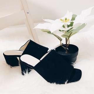 Sandra Sandals in Black
