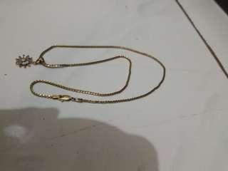 kalung perak