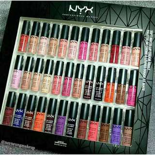 NYX SOFT MATTE LIPCREAM SET