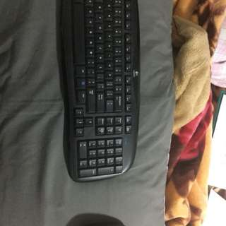 Logitech EX 100 Wireless Keyboard and Mouse