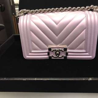 Chanel boy small size