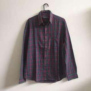 Topman Flannel Shirt Size M