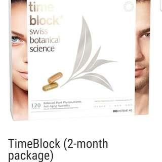 Time block swiss botanical science