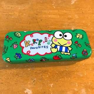 1993年Sanrio Keroppis青蛙懷舊筆盒