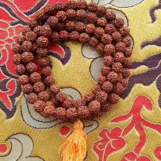 108 Japa Mala blessed with Ganges Water (Ganga Ma) NEPAL/INDIA RISHIKESH