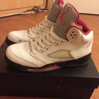 Air Jordan 5代 中筒鞋 籃球鞋