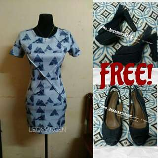 FREE SHOES & Jewels DL. Bailey Casual Formal Dress