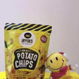 [現貨]大包裝新加坡Irvins咸蛋薯片