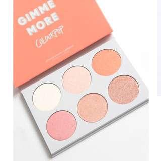 Colourpop GIMME MORE! Highlighter Palette