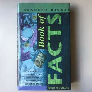 Reader's Digest: Book of Facts