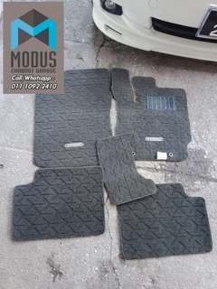 Carpet toyota passo basic hitam for myvi