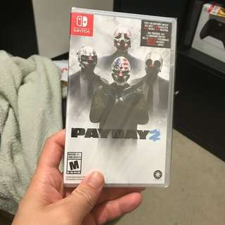 (BN) Payday 2 Nintendo Switch