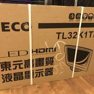 (全新)東元高畫質液晶顯示器 TL32K1TRE