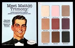 Meet Matte Trimony Palette