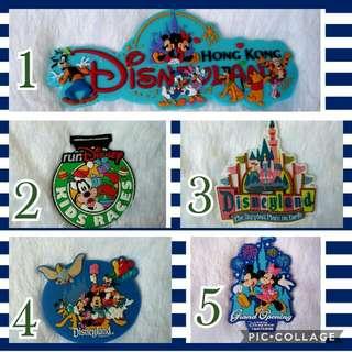 Disney rubber ref magnet
