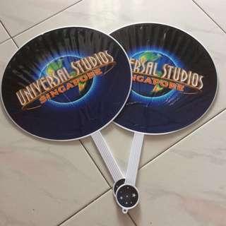 Plastic manual fan big
