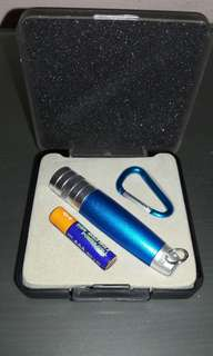 Brand New - Key Chain Size Touch light Set. Battery Provided.