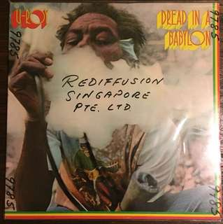 U-Roy -Dread In A Babylon (1975) ORG Reggae Dub Roots Dancehall LP Record Vinyl