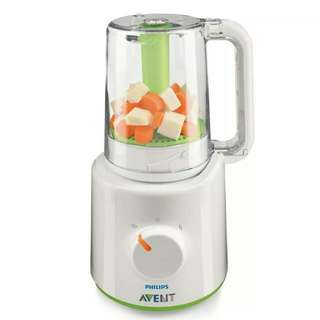 Philip avent 3 in 1 food processor