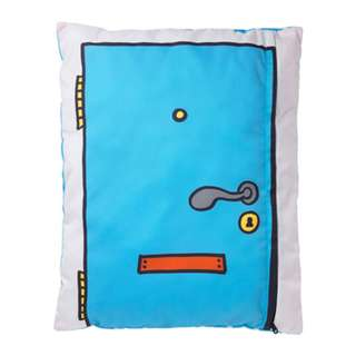 [IKEA] HEMMAHOS Cushion / Turquoise