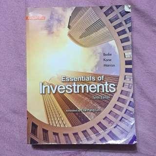 投資學原文書 第十版