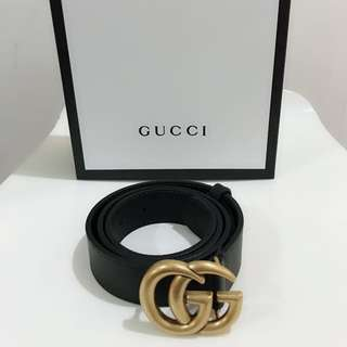 🆕👱‍♂️👱‍♀️Authentic Gucci GG Logo Belt