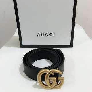🆕👱♂️👱♀️Authentic Gucci GG Logo Belt
